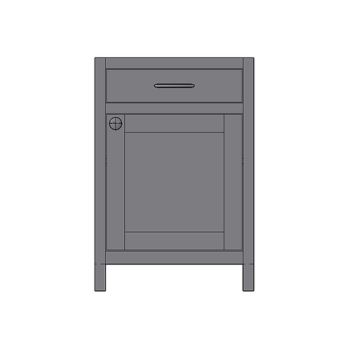 Base Unit with 1 Drawer and 1 Door
