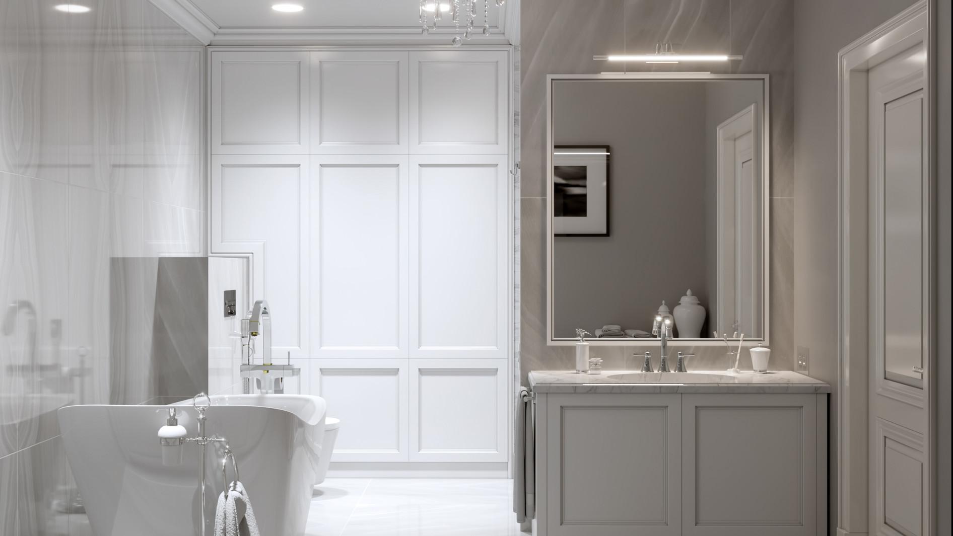 Shaker Bathroom Grey