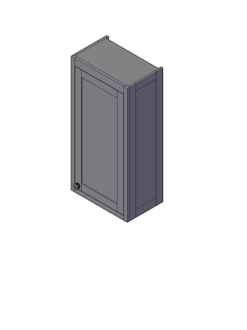 Shaker Style Dresser End Panel