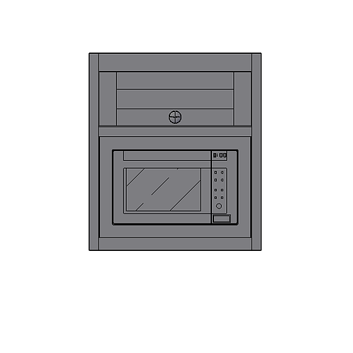 Wall Microwave Unit