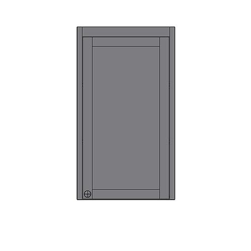Dresser Unit 1 Door (no bottom rail)