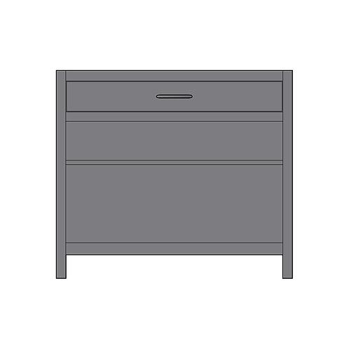 Base Unit Open Shelving & 1 Drawer