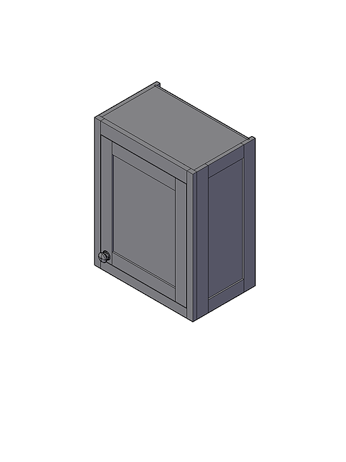 Shaker Style Wall End Panel