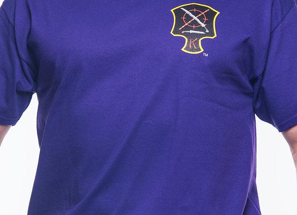 Belt T-shirt Purple