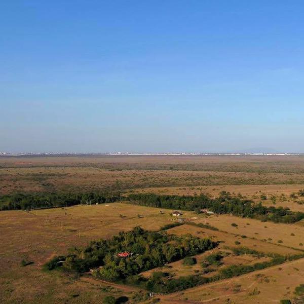 Aerial View of Nairobi from Danico Farm
