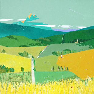 across the valleys