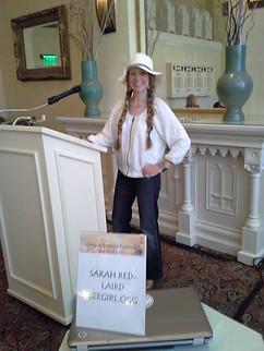 Bee girl - Sarah Red Laird 2014