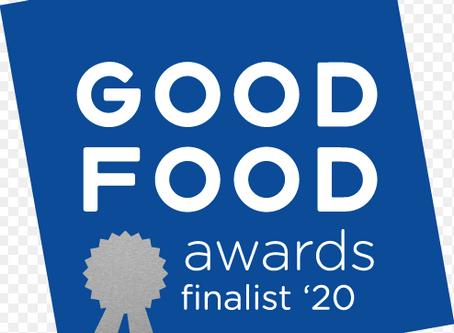 Good Food Awards names Cascade Girl Spring Honey as 2020 Finalist