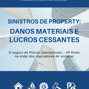 Livro lançado pela Enter Books aborda Sinistros de Property com destaque em Lucros Cessantes!