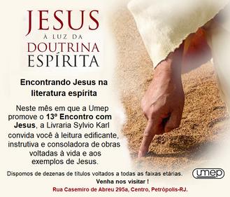 Encontrando Jesus através da literatura espírita