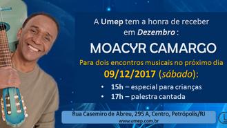 Moacyr Camargo canta na Umep