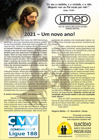 Informativo Umep Digital - Jan 21