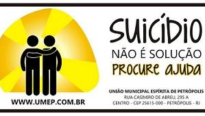 Suicídio não é solução ! Procure ajuda !
