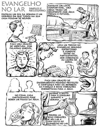 Evangelho no Lar em quadrinhos