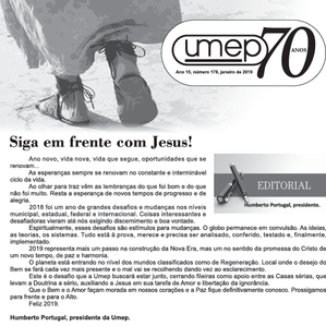 Editorial do Informativo Umep - Jan/2019