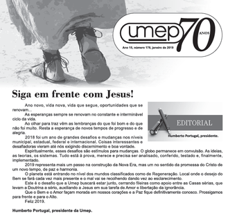 Editorial do Informativo Umep - Jan/2019
