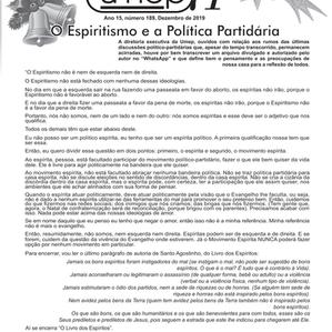 Editorial do Informativo Umep - Dezembro 2019