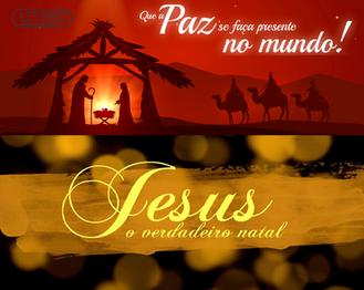 Jesus o verdadeiro Natal