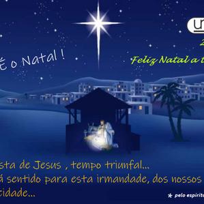 Feliz Natal de Jesus : são os votos da Umep a todos !