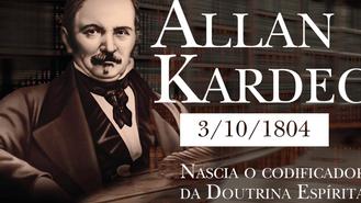 Em 03 de Outubro nascia Allan Kardec