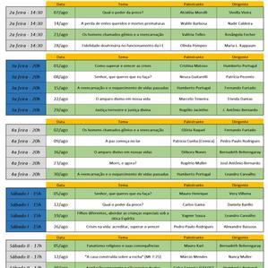 Umep - Agenda de Palestras Agosto 2017