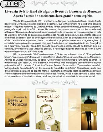 Livraria da Umep - mês de Bezerra de Menezes