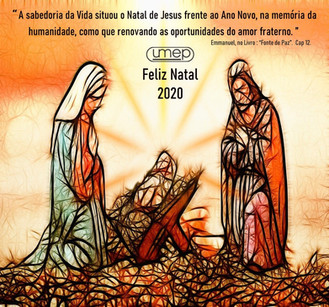 O Natal é nova oportunidade divina de renovarmos o amor fraternal