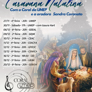 Caravana Natalina - Coral da Umep 2019
