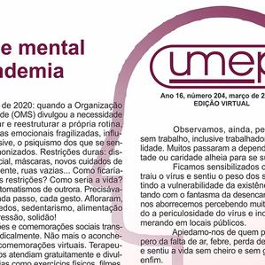 Informativo Umep Digital - Mar 21