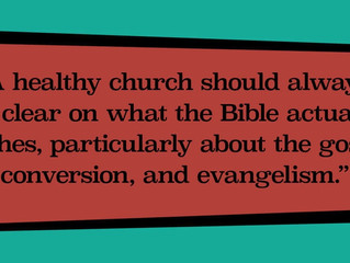 The Gospel Shaped Church