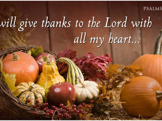Thanksgiving–the Antidote to Selfishness