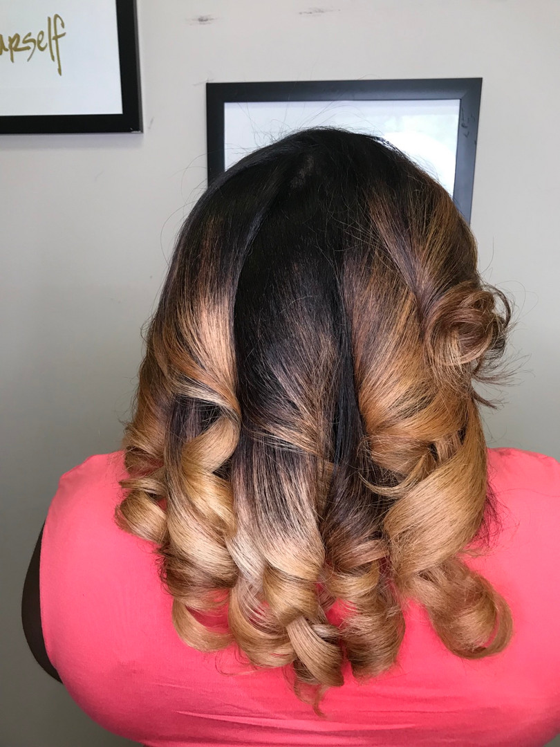 Natural Hair Rocks silk press