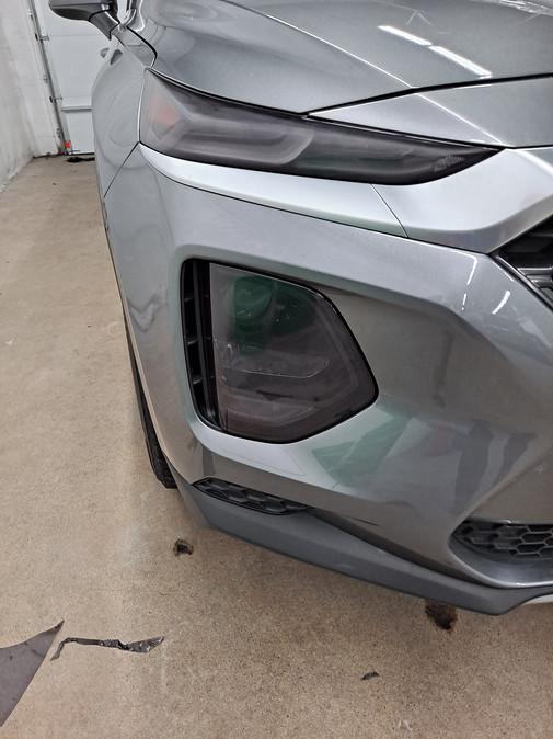 2019 Hyundai Santa Fe After Tint