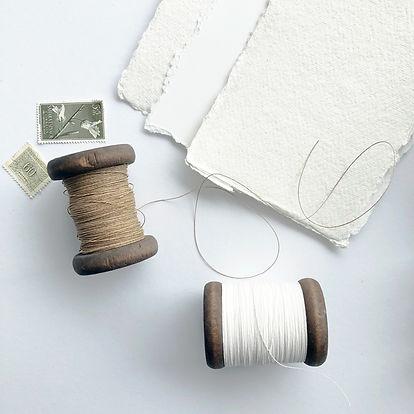 Silk & Paper Twine | Lint voor trouwkaarten