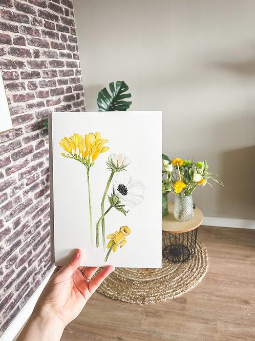 Atelier Maans Original - Spring Flowers