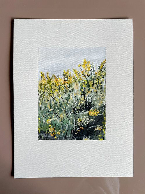 Atelier Maans Original - Yellow Garden