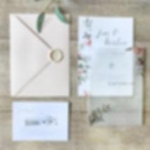 Trouwkaarten op maat | Studio Maans Design