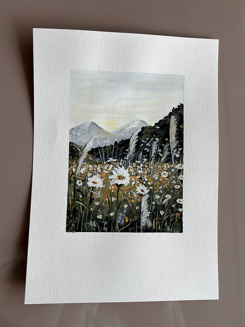 Atelier Maans Original - Mountain Daisies