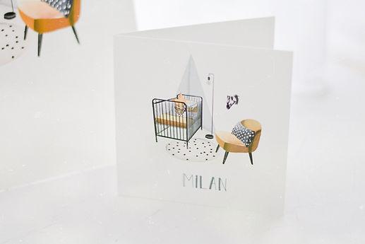 Geboortekaartje Babykamer Collectie
