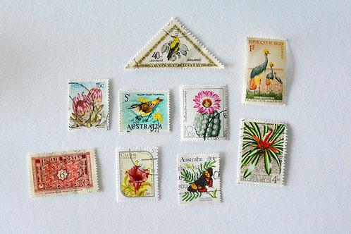 Vintage Postzegels - Tropisch