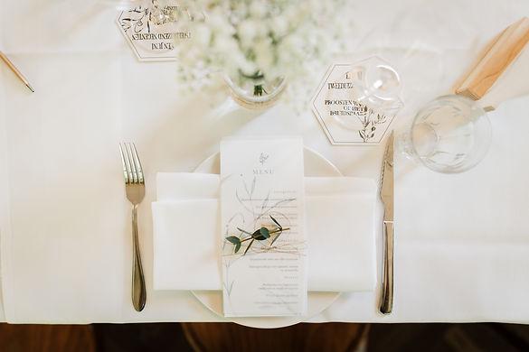 Bruiloft Menukaarten Day of Details