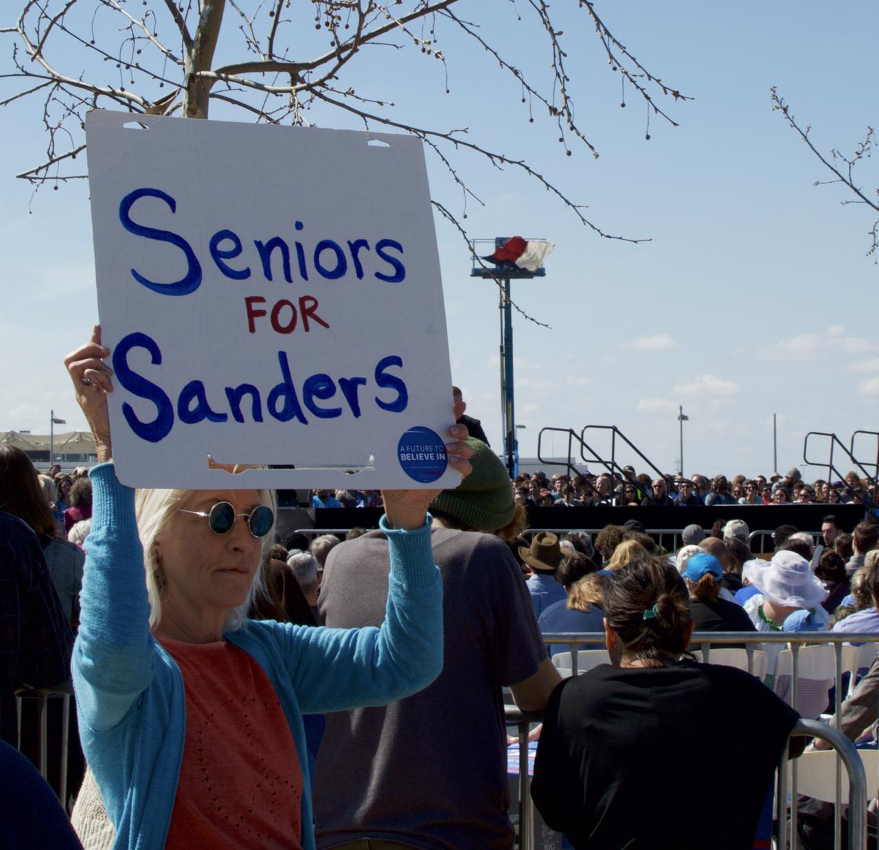 Seniors for Sanders 2016