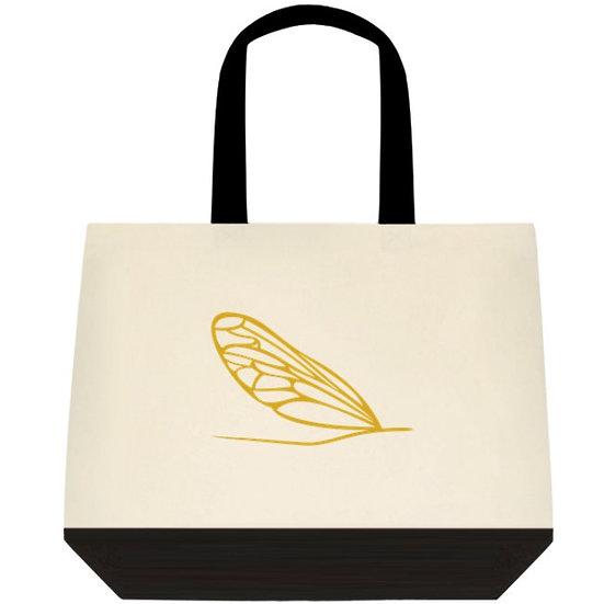 Le sac de coton jaune