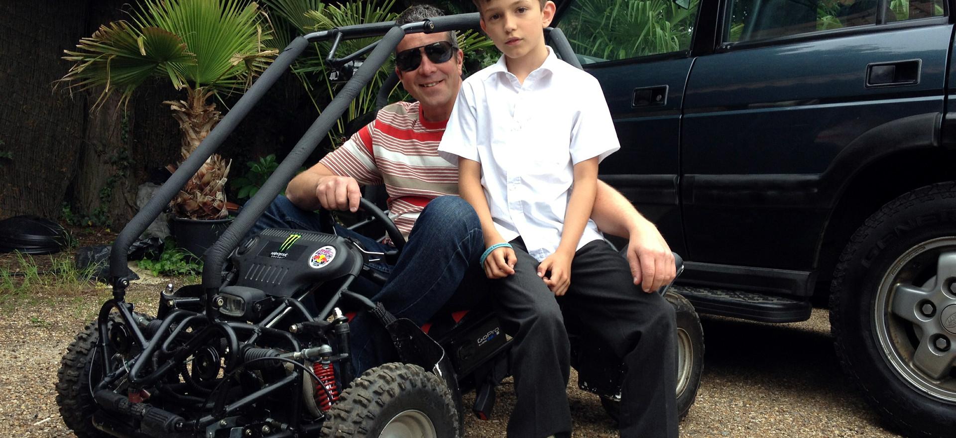 Scott's 200cc buggy 1