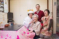 花嫁さんと家族の前撮り