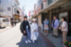 地元で花嫁さんの前撮りロケ