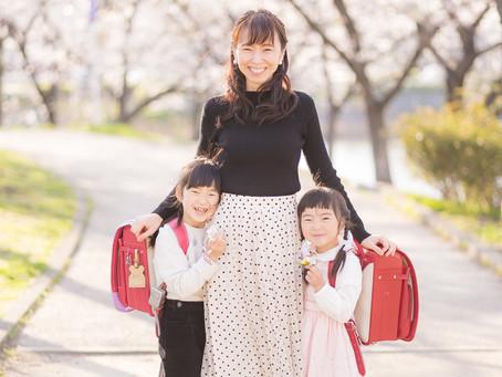 2021/3/24 入学記念の写真