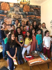 TRT Çocuk Korosu ziyaretinden