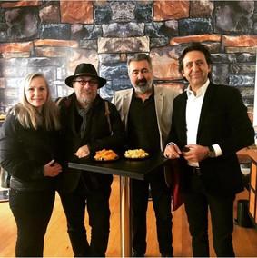 Hasan Esen, Ahmet Kadri Rizeli ve Canan Aşiroğlu açılışımızda