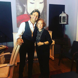 Samime Sanay stüdyomuzu ziyaret etti